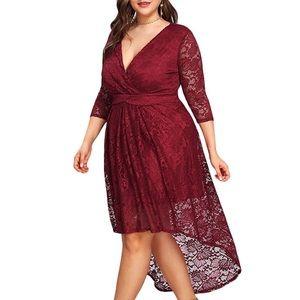Dresses & Skirts - PLUS🍒Cherry Quality Lace Power Dress, 14-22W